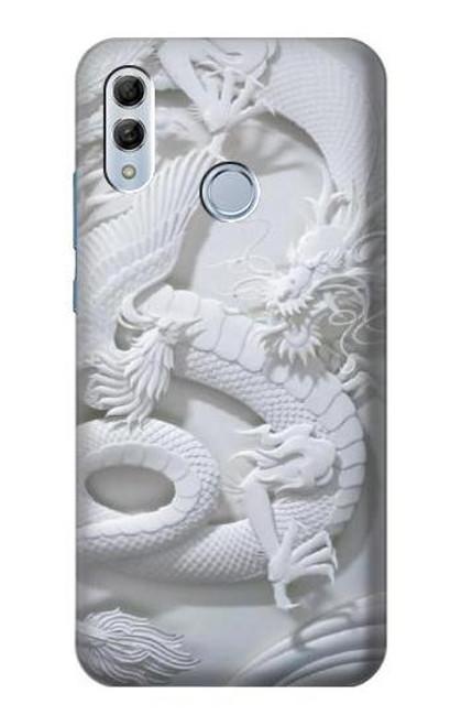 S0386 Dragon Carving Etui Coque Housse pour Huawei Honor 10 Lite, Huawei P Smart 2019
