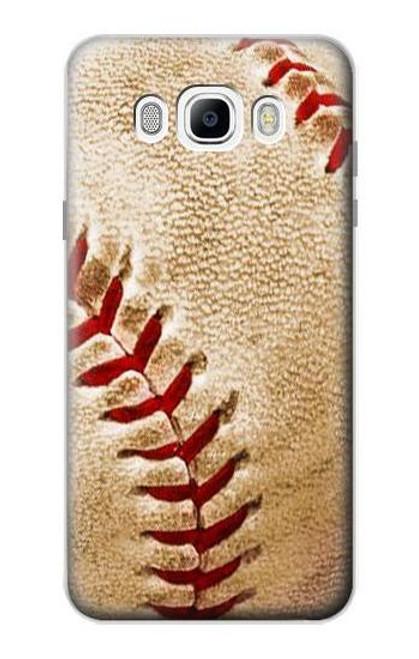 S0064 Baseball Etui Coque Housse pour Samsung Galaxy J7 (2016)