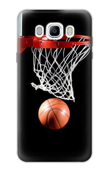 S0066 Basketball Etui Coque Housse pour Samsung Galaxy J7 (2016)