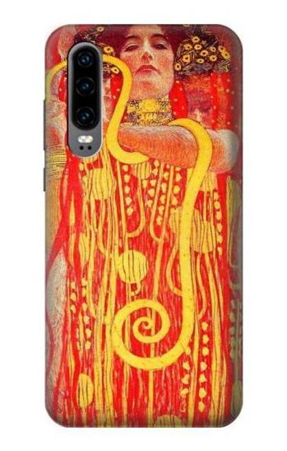 S3352 Gustav Klimt Medicine Etui Coque Housse pour Huawei P30