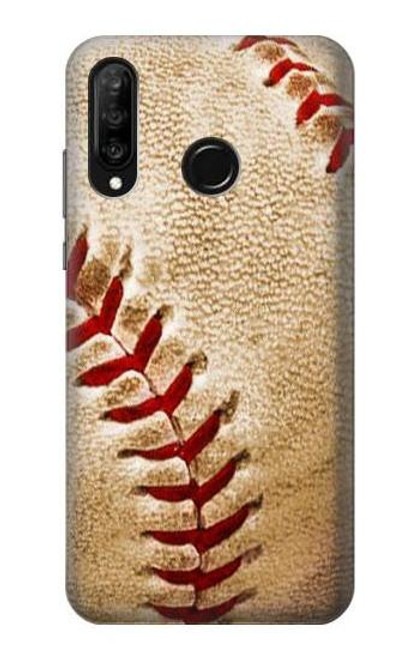 S0064 Baseball Etui Coque Housse pour Huawei P30 lite