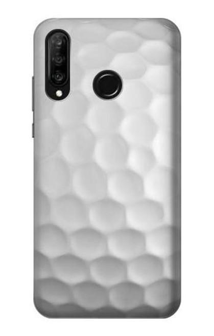 S0071 Golf Ball Etui Coque Housse pour Huawei P30 lite