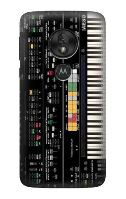 S0061 Synthesizer Etui Coque Housse pour Motorola Moto G7 Play