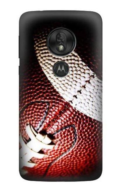 S0062 American Football Etui Coque Housse pour Motorola Moto G7 Play