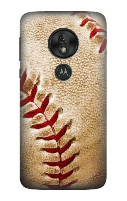 S0064 Baseball Etui Coque Housse pour Motorola Moto G7 Power