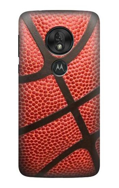 S0065 Basketball Etui Coque Housse pour Motorola Moto G7 Power