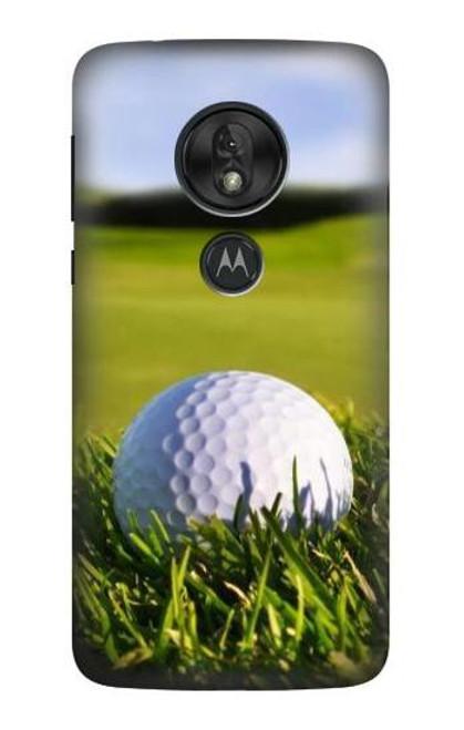S0068 Golf Etui Coque Housse pour Motorola Moto G7 Power