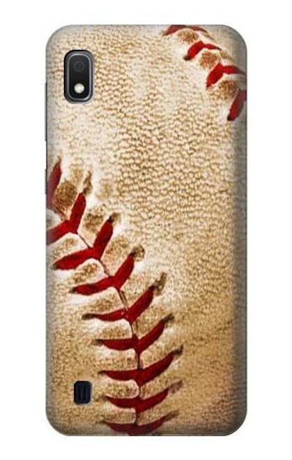 S0064 Baseball Etui Coque Housse pour Samsung Galaxy A10