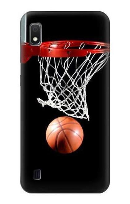 S0066 Basketball Etui Coque Housse pour Samsung Galaxy A10
