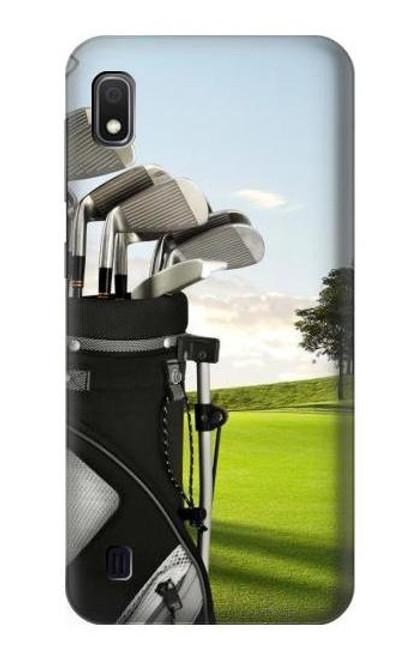 S0067 Golf Etui Coque Housse pour Samsung Galaxy A10