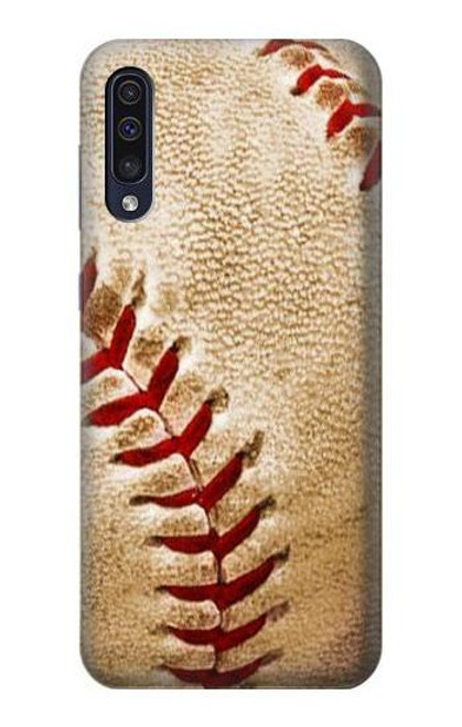 S0064 Baseball Etui Coque Housse pour Samsung Galaxy A50