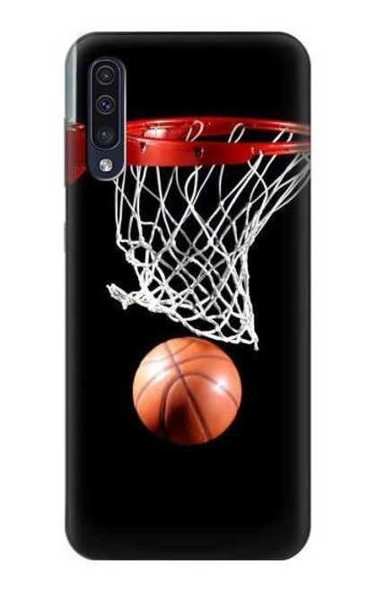 S0066 Basketball Etui Coque Housse pour Samsung Galaxy A70