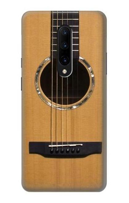 S0057 Acoustic Guitar Etui Coque Housse pour OnePlus 7 Pro