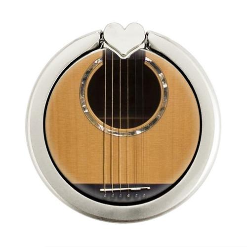 S0057 Acoustic Guitar Graphique Porte-Bague et Pop Up Grip doigt Socket Support