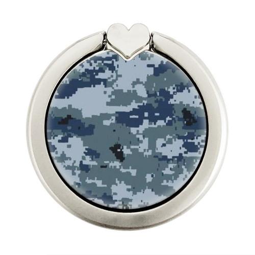 S2346 Navy Camo Camouflage Graphic Graphique Porte-Bague et Pop Up Grip doigt Socket Support