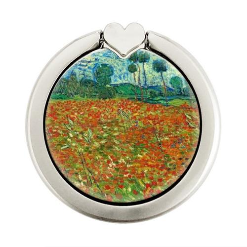 S2681 Field Of Poppies Vincent Van Gogh Graphique Porte-Bague et Pop Up Grip doigt Socket Support