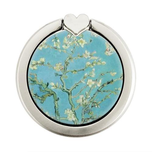 S2692 Vincent Van Gogh Almond Blossom Graphique Porte-Bague et Pop Up Grip doigt Socket Support