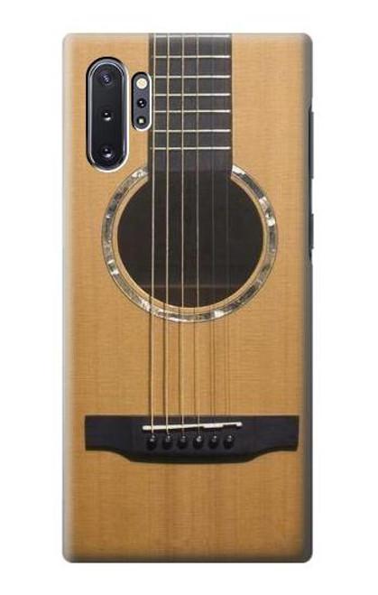 S0057 Acoustic Guitar Etui Coque Housse pour Samsung Galaxy Note 10 Plus