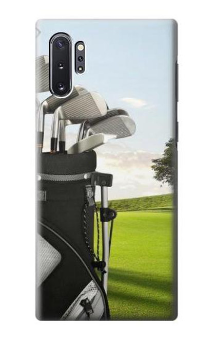 S0067 Golf Etui Coque Housse pour Samsung Galaxy Note 10 Plus