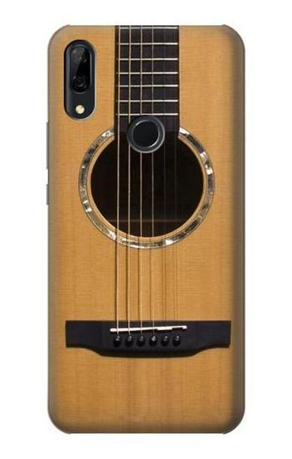 S0057 Acoustic Guitar Etui Coque Housse pour Huawei P Smart Z, Y9 Prime 2019