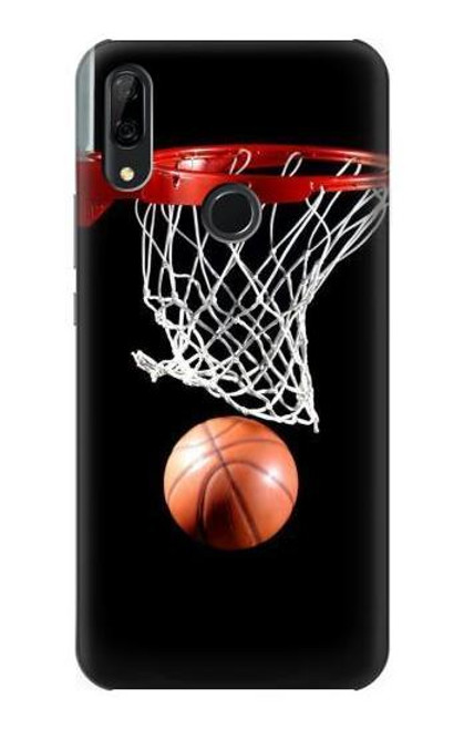 S0066 Basketball Etui Coque Housse pour Huawei P Smart Z, Y9 Prime 2019