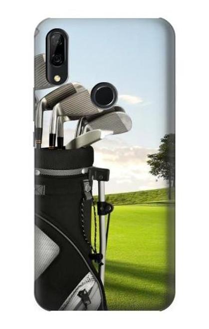 S0067 Golf Etui Coque Housse pour Huawei P Smart Z, Y9 Prime 2019
