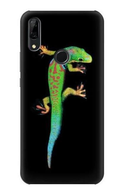 S0125 Green Madagascan Gecko Etui Coque Housse pour Huawei P Smart Z, Y9 Prime 2019