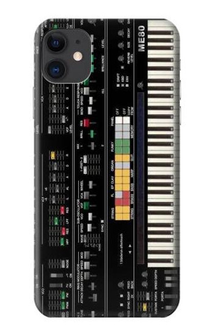 S0061 Synthesizer Etui Coque Housse pour iPhone 11