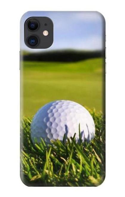 S0068 Golf Etui Coque Housse pour iPhone 11