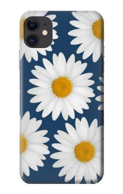 S3009 Daisy Blue Etui Coque Housse pour iPhone 11