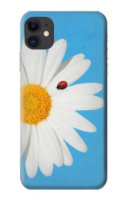 S3043 Vintage Daisy Lady Bug Etui Coque Housse pour iPhone 11