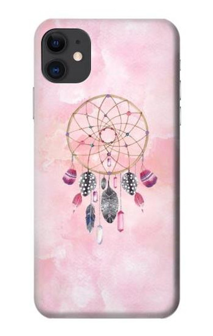 S3094 Dreamcatcher Watercolor Painting Etui Coque Housse pour iPhone 11