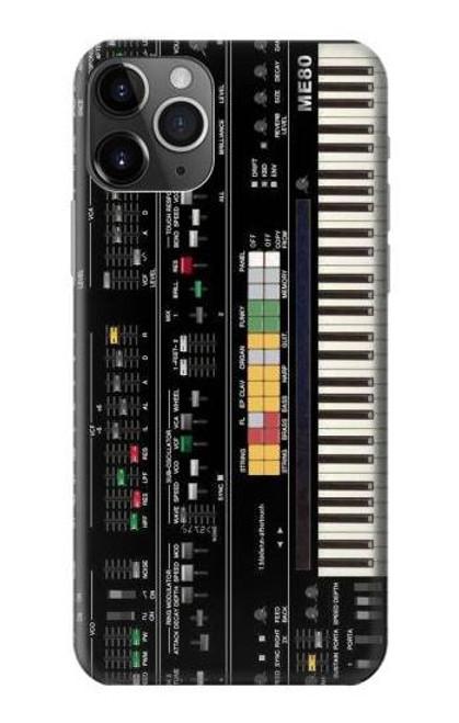 S0061 Synthesizer Etui Coque Housse pour iPhone 11 Pro