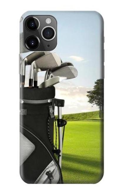 S0067 Golf Etui Coque Housse pour iPhone 11 Pro