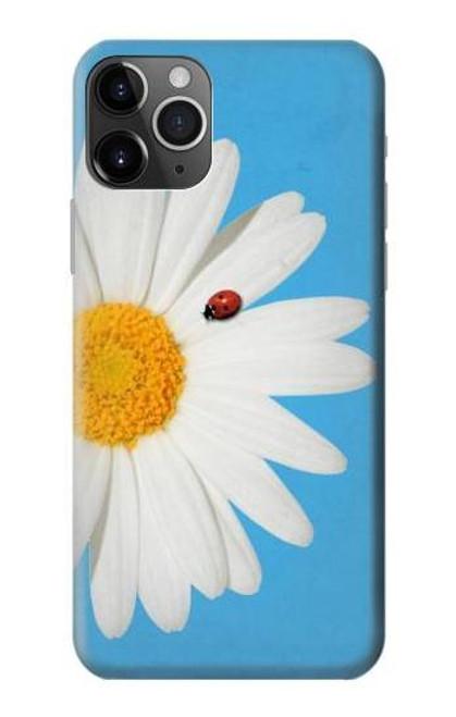 S3043 Vintage Daisy Lady Bug Etui Coque Housse pour iPhone 11 Pro Max