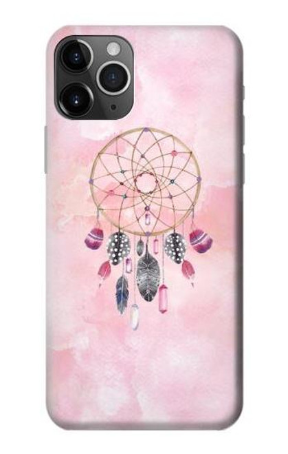 S3094 Dreamcatcher Watercolor Painting Etui Coque Housse pour iPhone 11 Pro Max