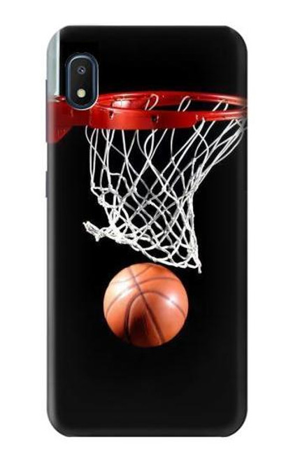 S0066 Basketball Etui Coque Housse pour Samsung Galaxy A10e