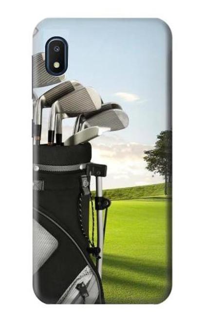 S0067 Golf Etui Coque Housse pour Samsung Galaxy A10e