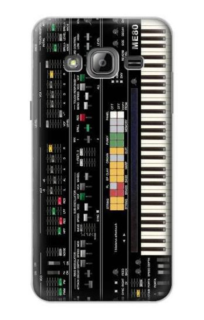S0061 Synthesizer Etui Coque Housse pour Samsung Galaxy J3 (2016)