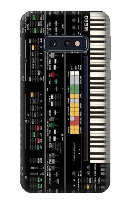 S0061 Synthesizer Etui Coque Housse pour Samsung Galaxy S10e