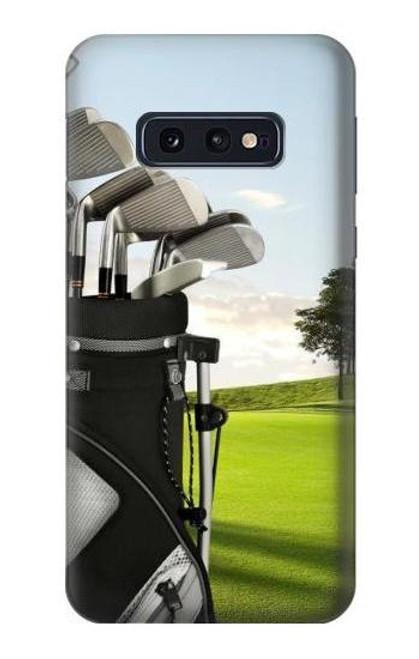 S0067 Golf Etui Coque Housse pour Samsung Galaxy S10e