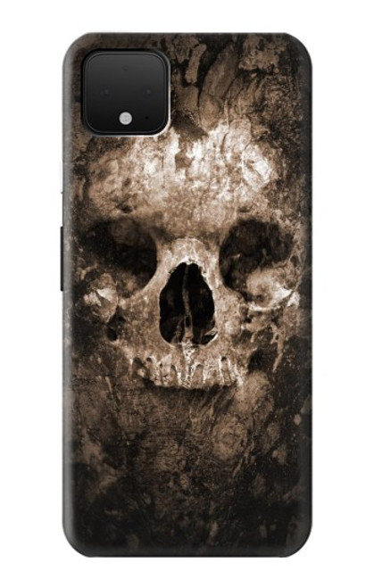 S0552 Crâne Etui Coque Housse pour Google Pixel 4