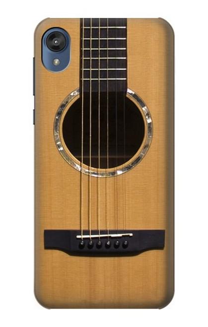 S0057 Acoustic Guitar Etui Coque Housse pour Motorola Moto E6, Moto E (6th Gen)