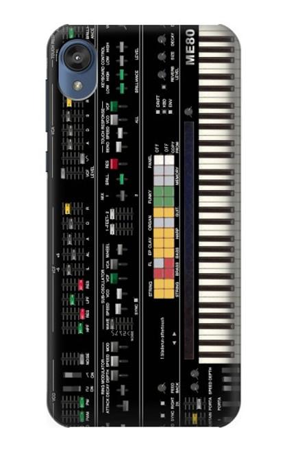 S0061 Synthesizer Etui Coque Housse pour Motorola Moto E6, Moto E (6th Gen)