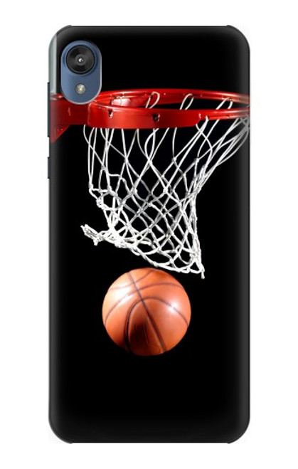 S0066 Basketball Etui Coque Housse pour Motorola Moto E6, Moto E (6th Gen)
