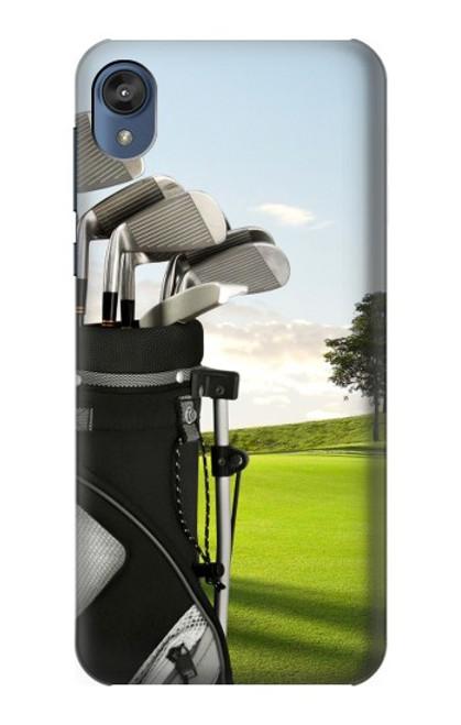 S0067 Golf Etui Coque Housse pour Motorola Moto E6, Moto E (6th Gen)