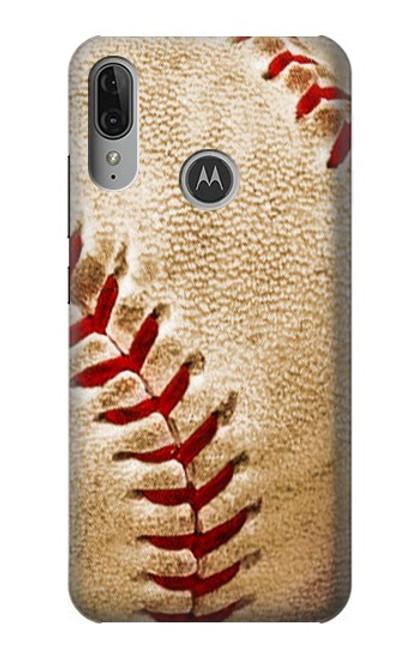 S0064 Baseball Etui Coque Housse pour Motorola Moto E6 Plus, Moto E6s