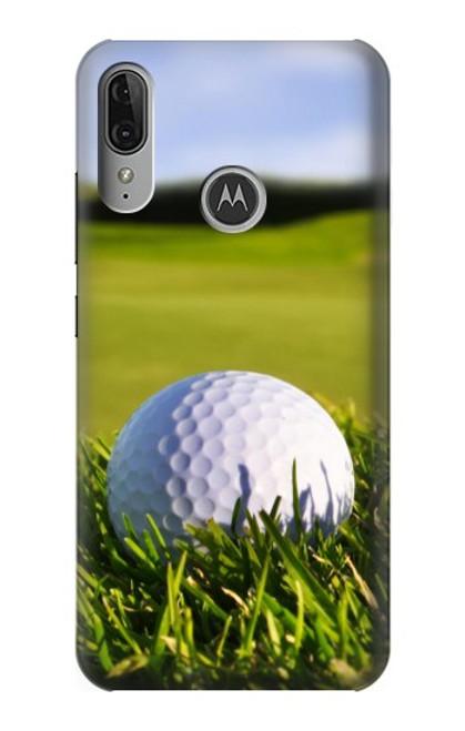 S0068 Golf Etui Coque Housse pour Motorola Moto E6 Plus, Moto E6s