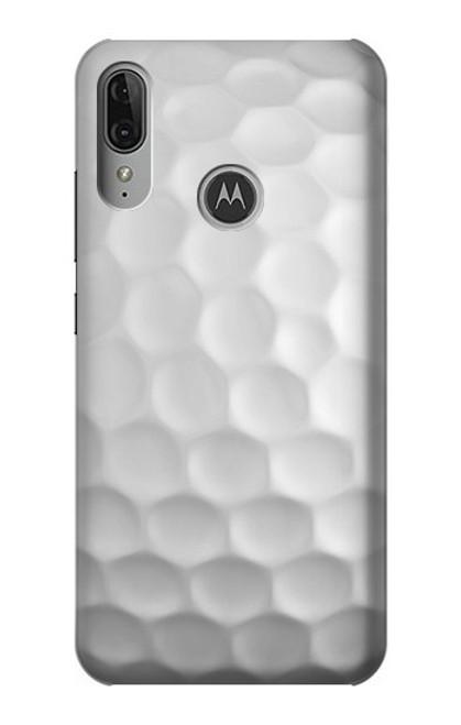 S0071 Golf Ball Etui Coque Housse pour Motorola Moto E6 Plus, Moto E6s