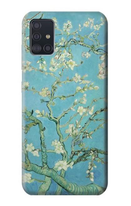 S2692 Vincent Van Gogh Amandier en fleurs Etui Coque Housse pour Samsung Galaxy A51